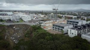Auckland Council and Auckland Transport discuss Rawene Rd slip