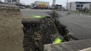 Subsidence in Auckland car park worsens as nearby construction continues