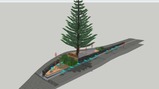 Town centre upgrade causes debate on Auckland's North Shore