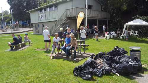 Little Shoal Bay Beach, Reserve and Coastline Clean-up 2018